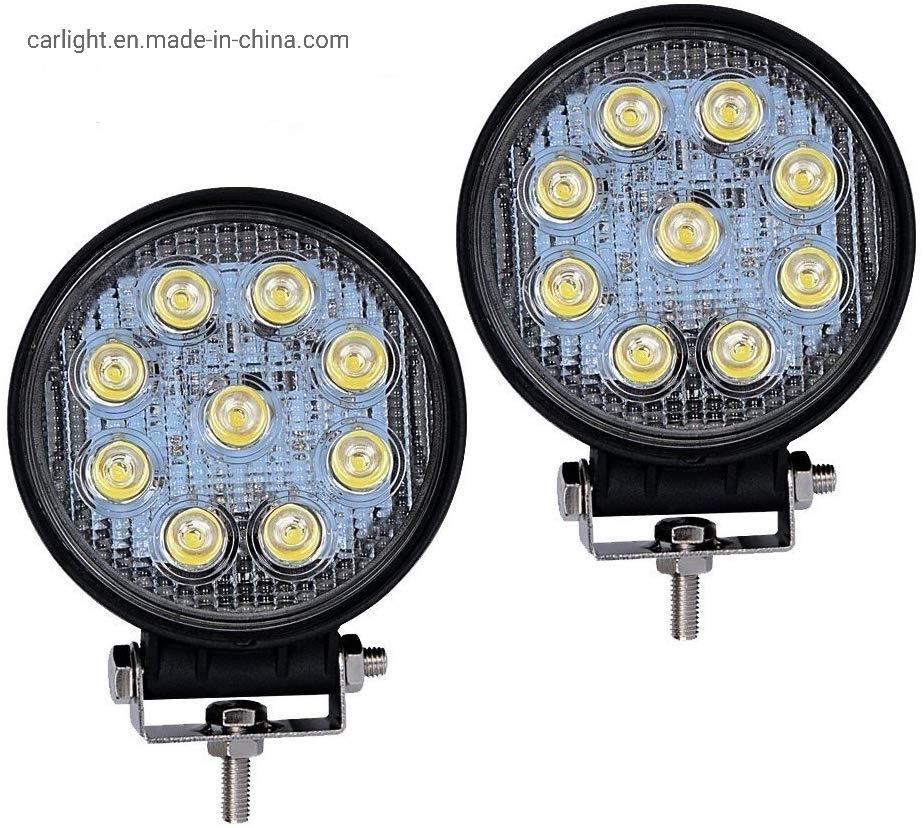 "1 PCS 4/""INCH 27W LED WORK LIGHT BAR FLOOD DRIVING Lamp OFFROAD SUV ATV BOAT"