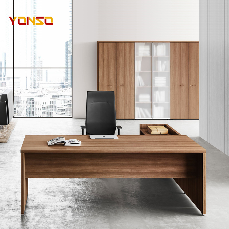 Nice Executive L Shaped Office Wood