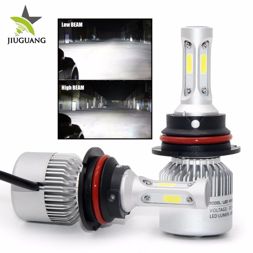 Hot Item 8000 Lumen Auto Led Lighting System H4 H7 H11 9006 Super Bright Headlight Bulbs 9005