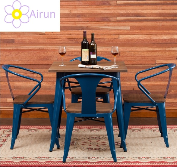 China Best Price Retro Vintage Antique Iron Steel Cafe Coffee Shop Tables And Chairs Set For Sale Photos Pictures Made In China Com