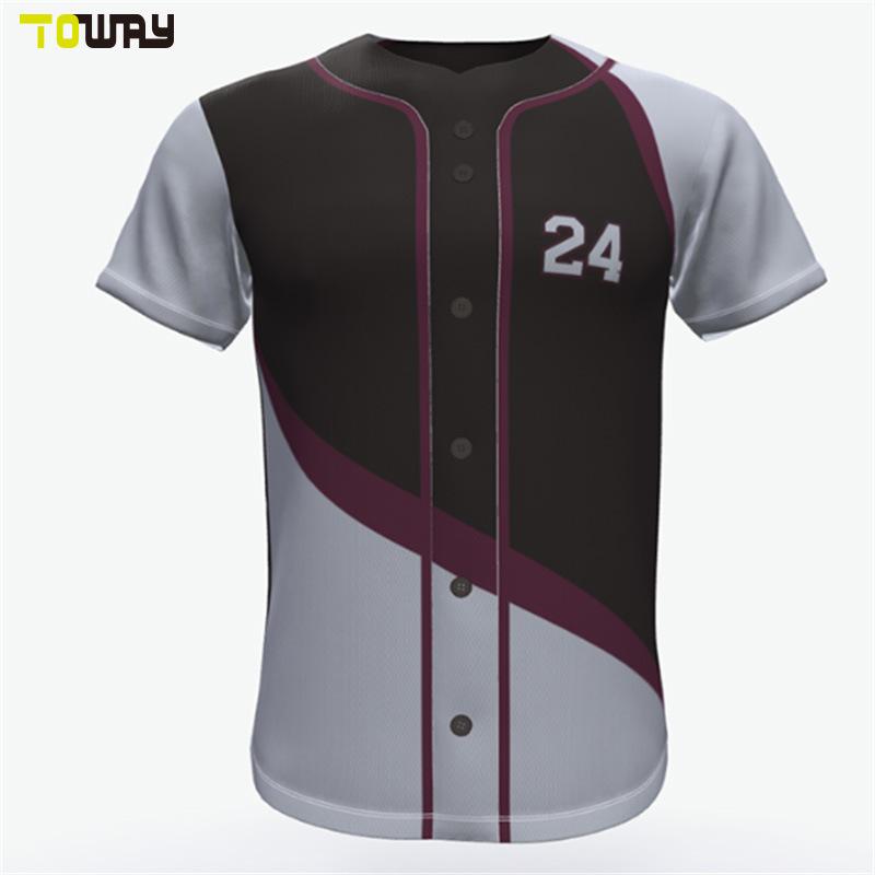 promo code d0f2f ff002 [Hot Item] Custom Cheap Wholesale Plain Baseball Jerseys Shirts