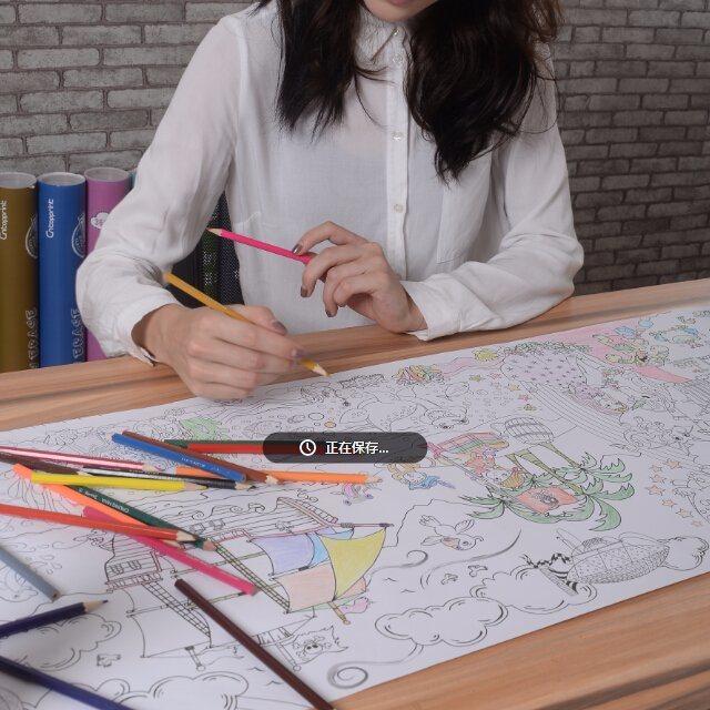 China Huge Size Coloring Poster Supertubes Giant Coloring Poster - China Coloring  Poster, Coloring Velvet Poster