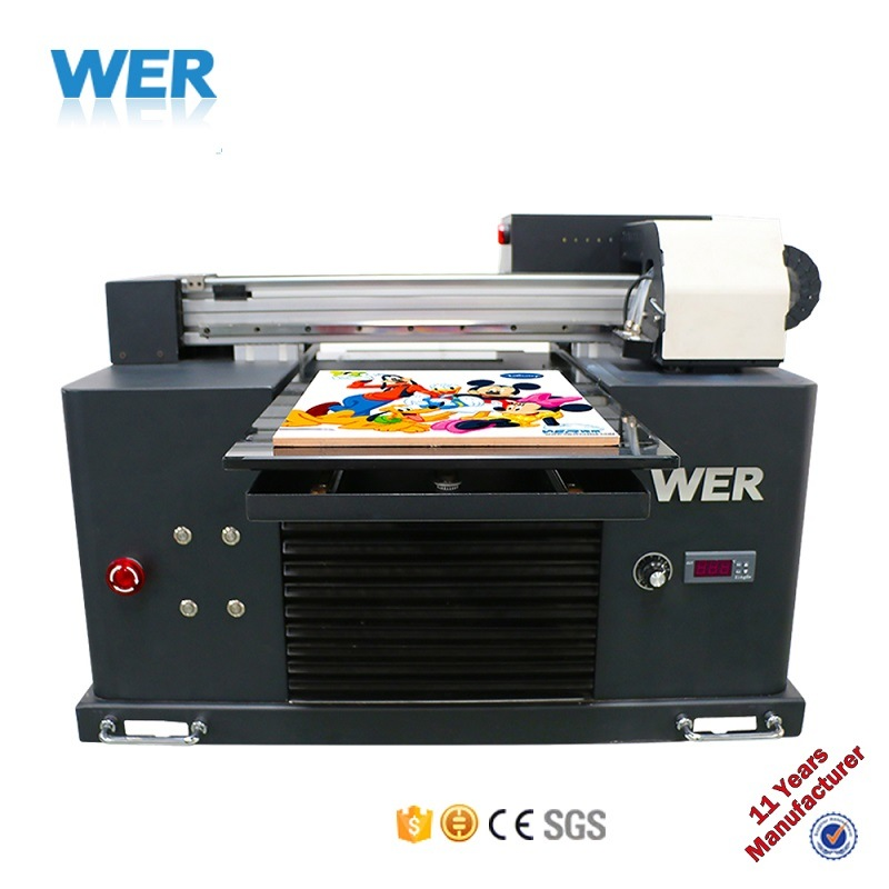Direct to Substrate Small Size UV-LED Flatbed Printer pictures & photos