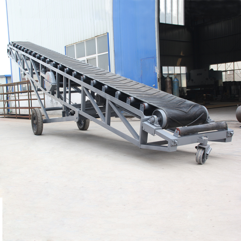 Portable Conveyor Belt Systems Are The Ideal Choice for Moving Loose  Materials
