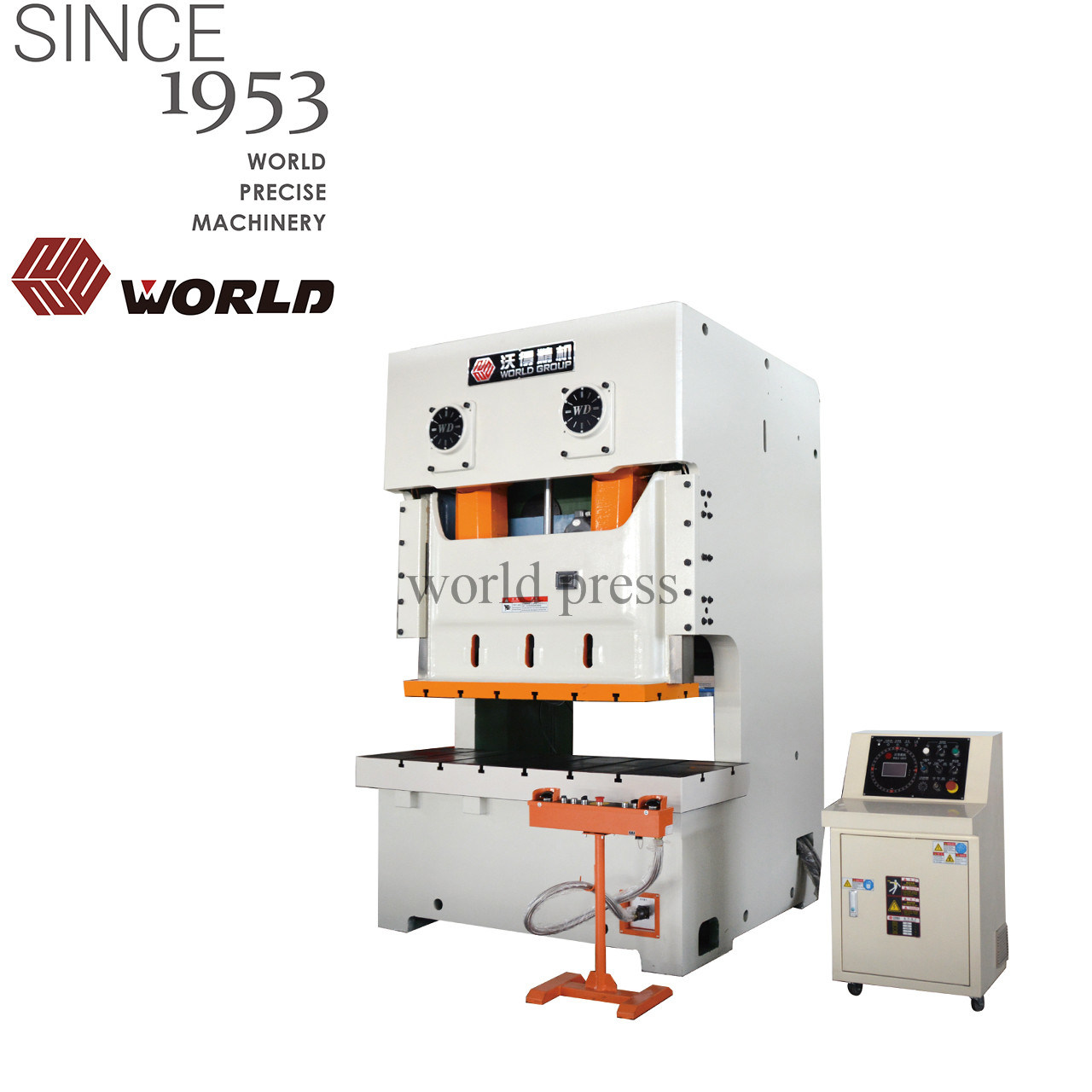 C Frame 250 Ton Double Point Mechanical Punching Power Press for Machine  Stamping