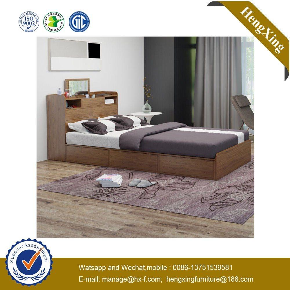 Bed Wooden Mdf Modern Bedroom