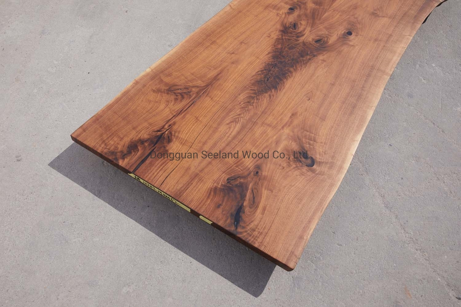[Hot Item] Live Edge Walnut Solid Wooden Table Top /Walnut Butcher Block  Top /Epoxy Resin River Table Finish / Natural Wood Table / Kitchen ...