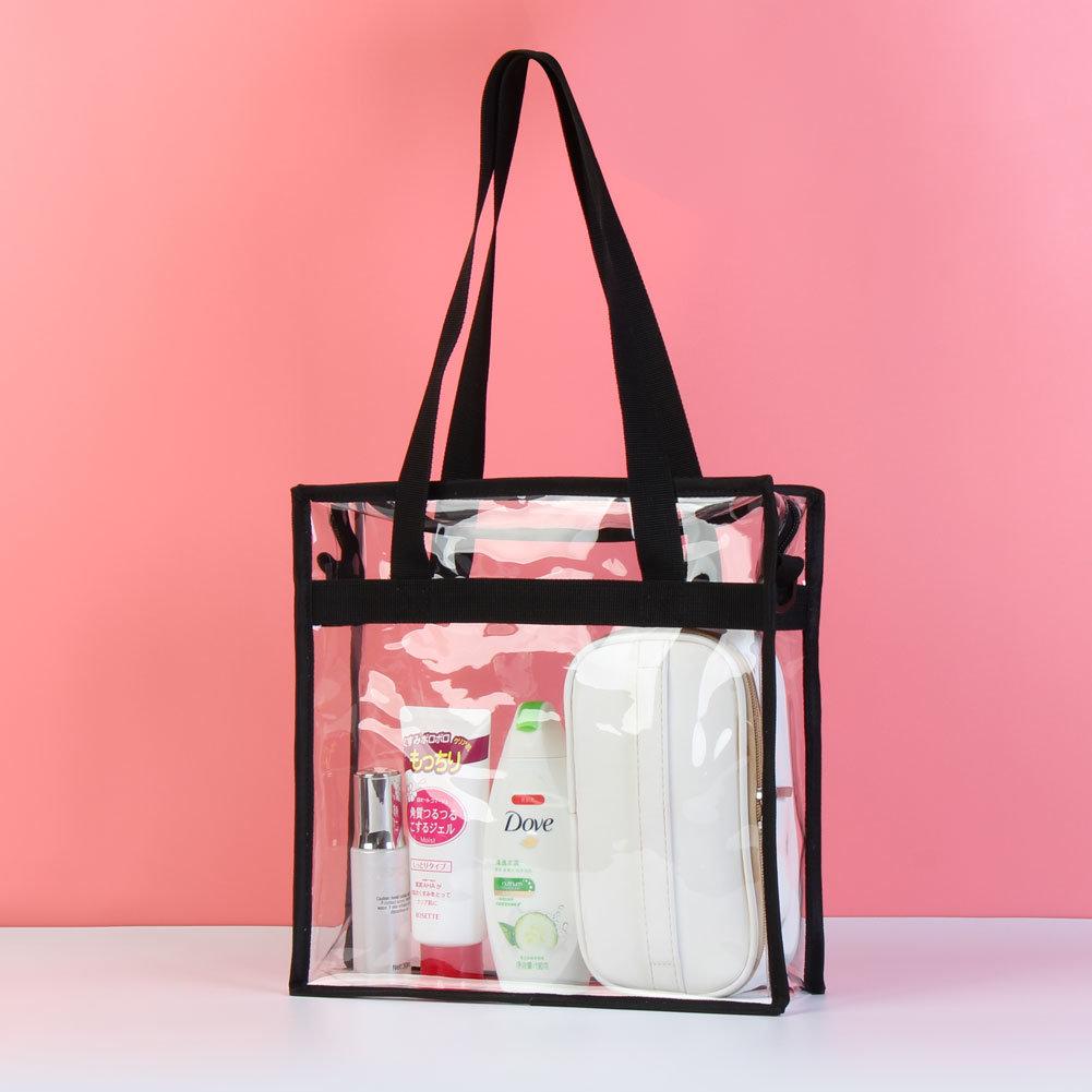 Fashion letter shoulder messenger bag light plastic printing with hanging bag