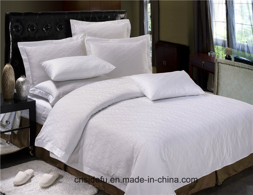 China Hotel Bed Linen Egyptian Cotton Sheet Sets Set