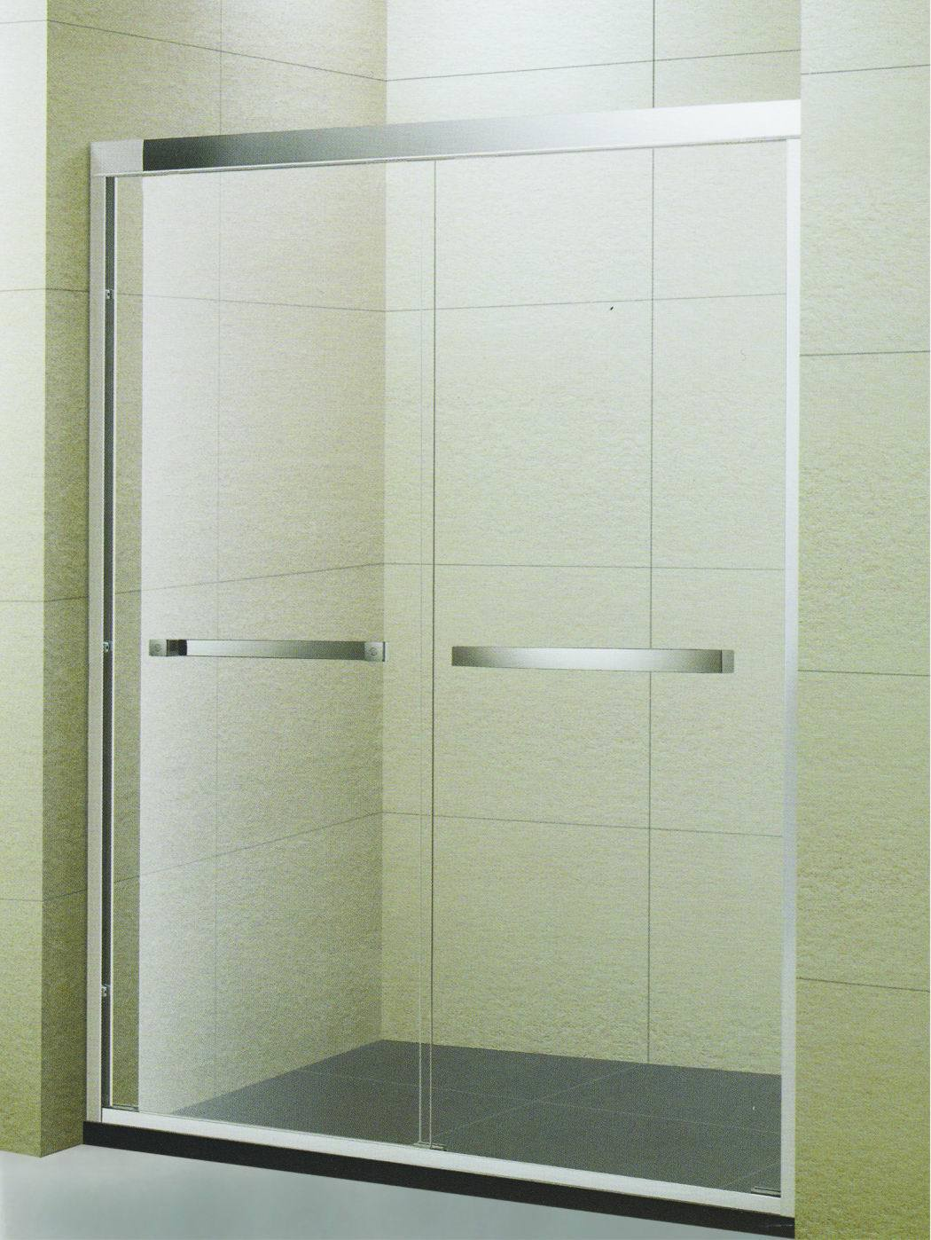 China Project Frame Sliding Double Stainless Steel Towel Bar Shower ...