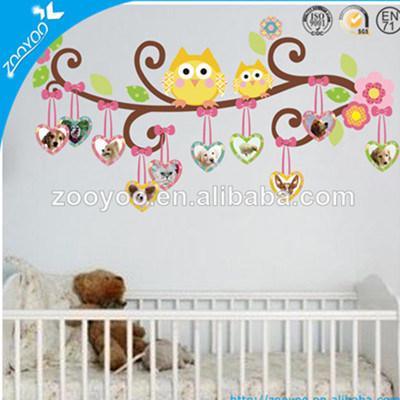 china zooyoo nursery pvc wall decal kids wall sticker home