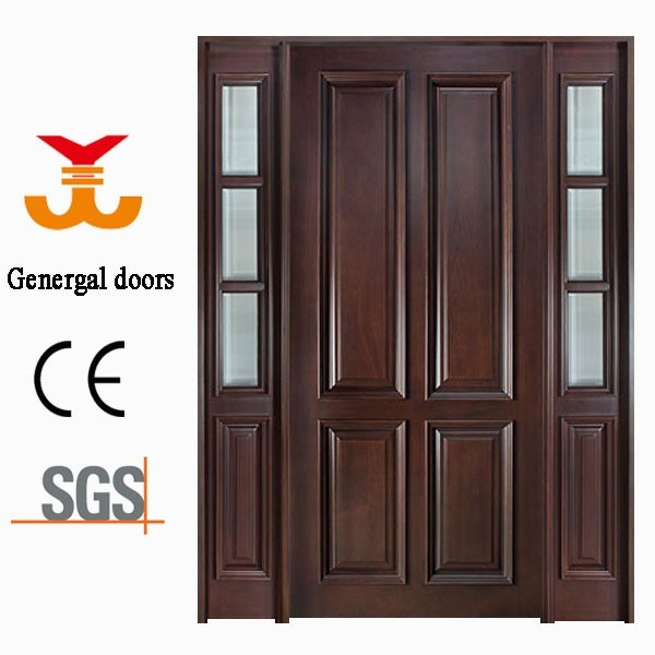Luxury Villa Entrance Wood Design Door