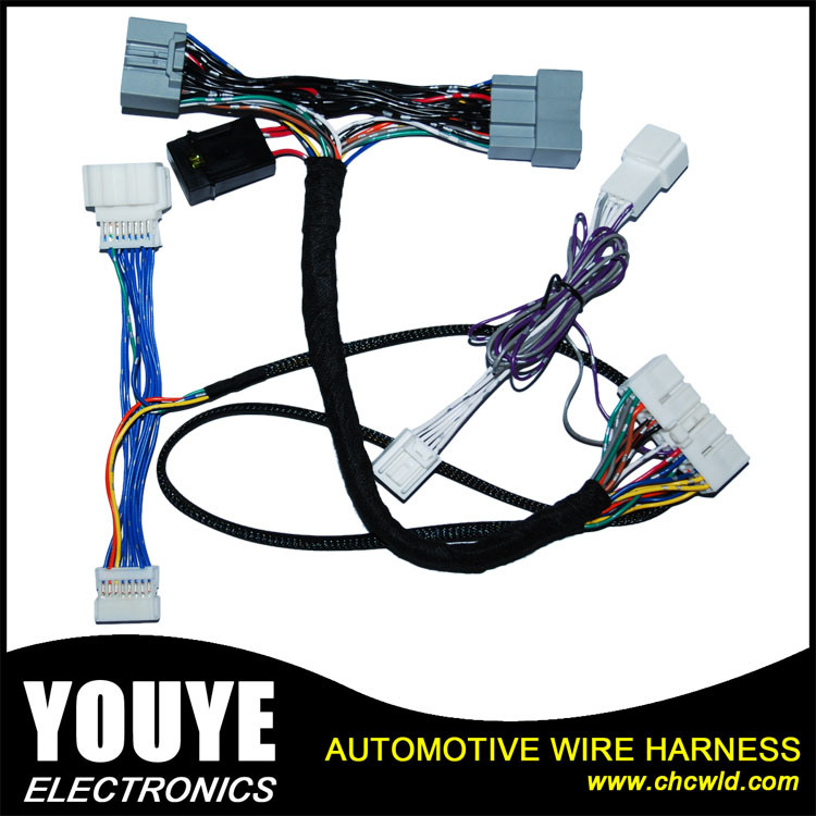 China Automotive Power Window Wiring Harness For Honda