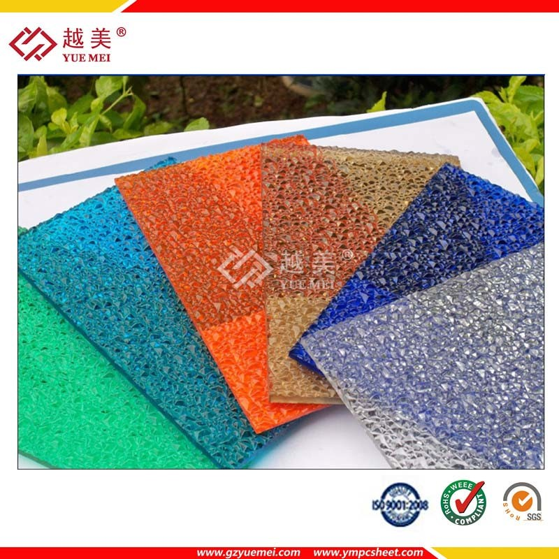 Polycarbonate Manufacturer Solid Sheet Hollw PC Panel Embossed Plastic Sheet