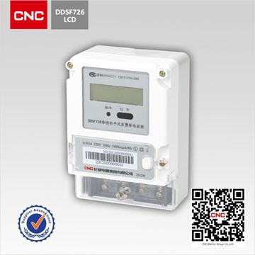 China CNC DDSF726 Single-Phase Electronic Multi-Rate Watt