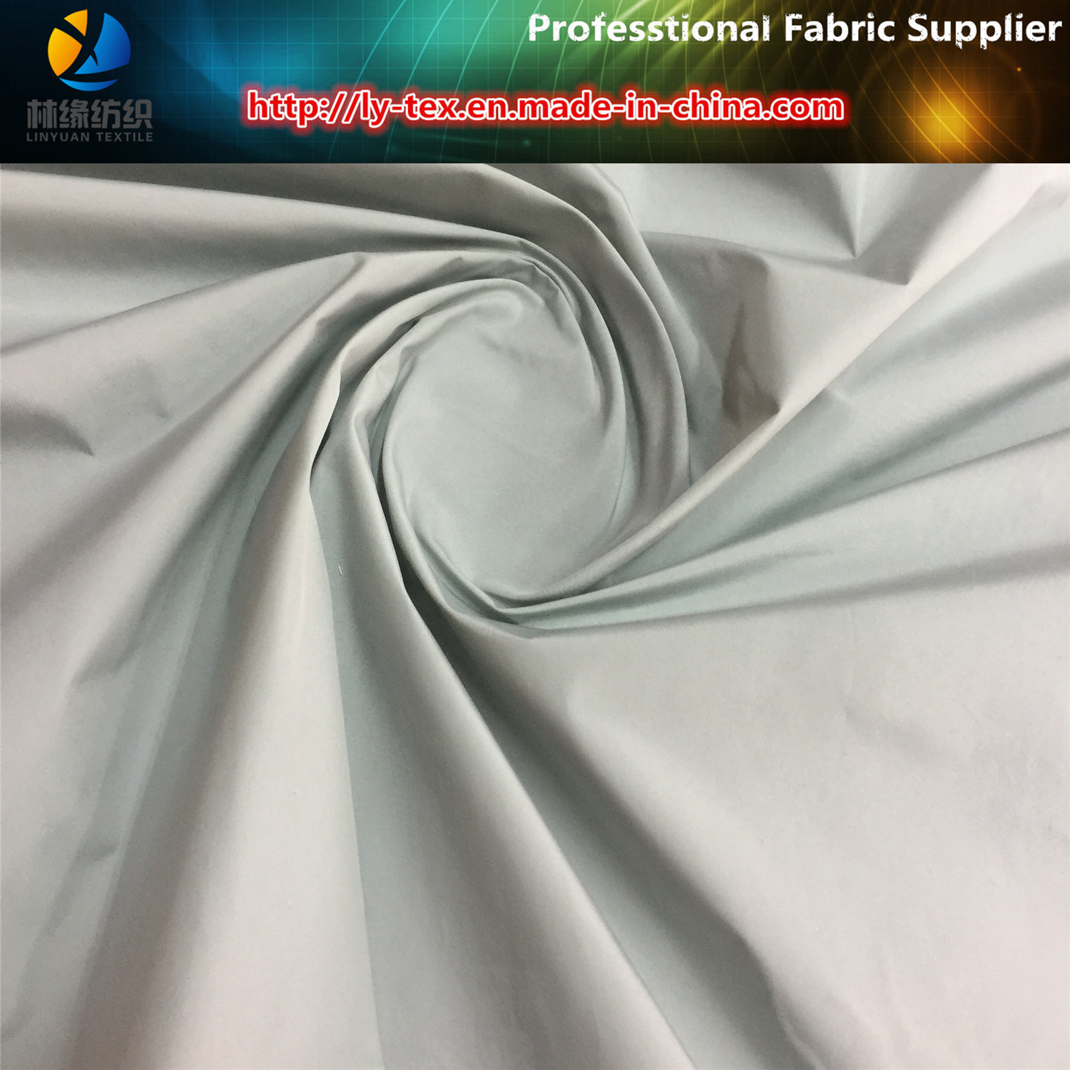 Hot! Popular Polyester Solid Yarn Dyed Fabric for Garment/Jacket (LY-YD1159) pictures & photos