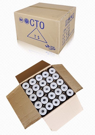 10 Inch CTO Activated Carbon Block Filter Cartridge