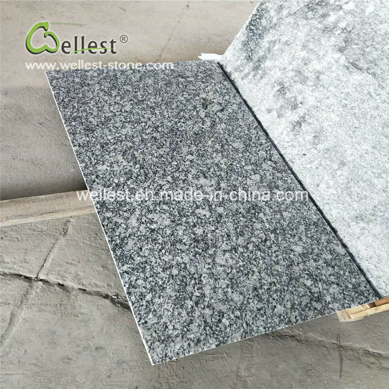 High Quality Polished Finish Wave White Granite Tile Wall Cladding pictures & photos