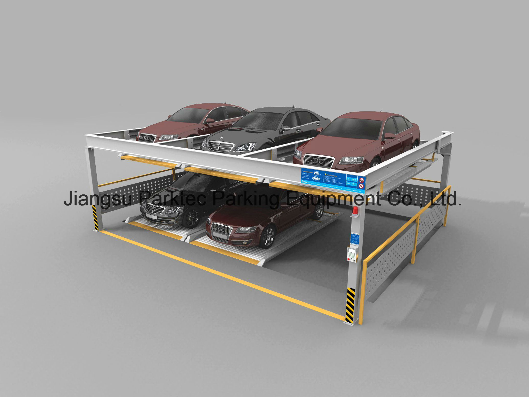 2-Layer Puzzle Parking System
