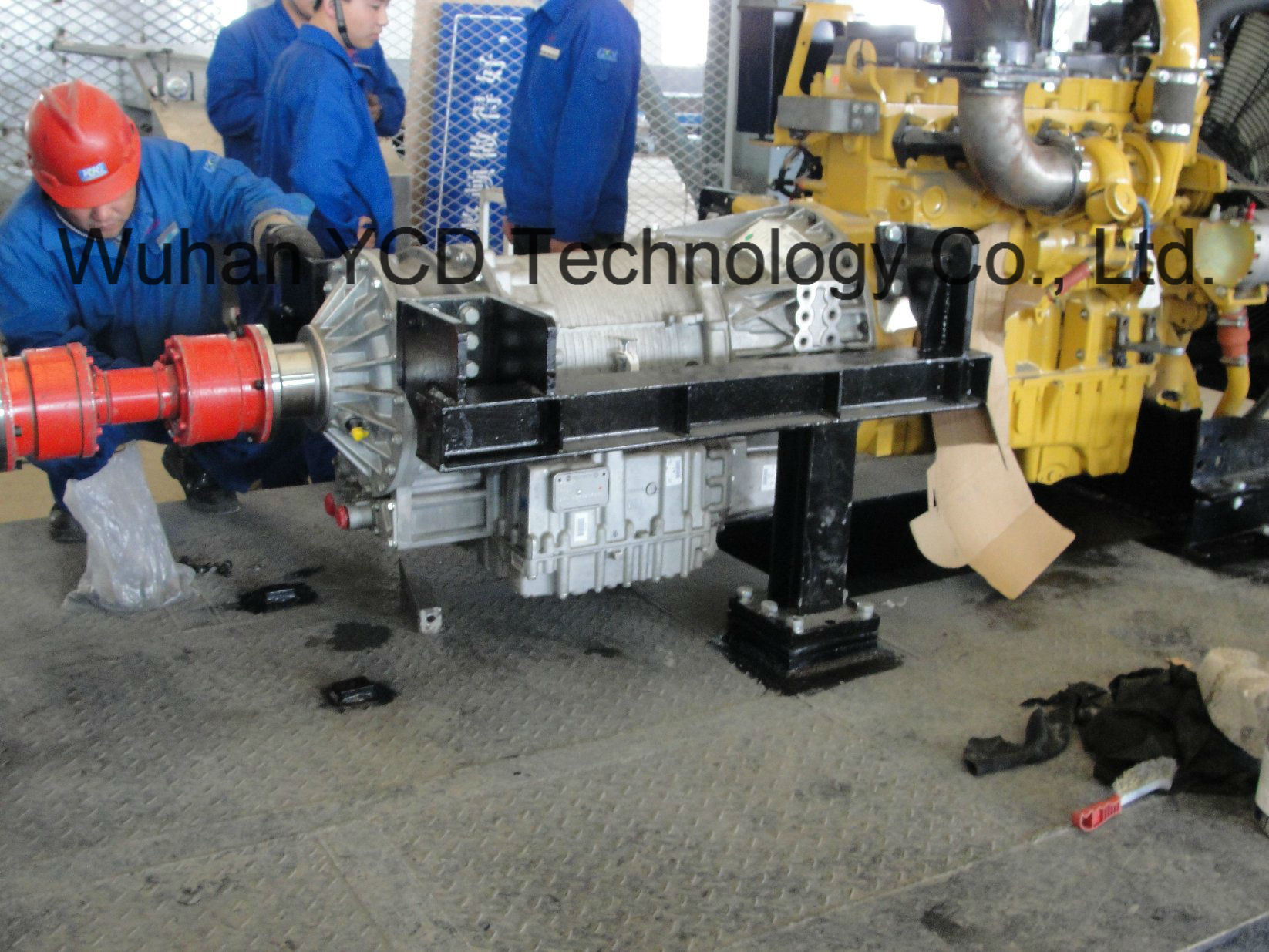 Diesel Engine + Transmission Power Assembly Package for Mud Pump/Non Road Mobile Equipment/Construction Machinery pictures & photos