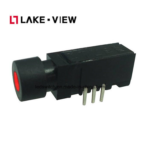 Right Angle LED Illuminated Pushbutton Switch Features 2 or 4 Pole Options pictures & photos