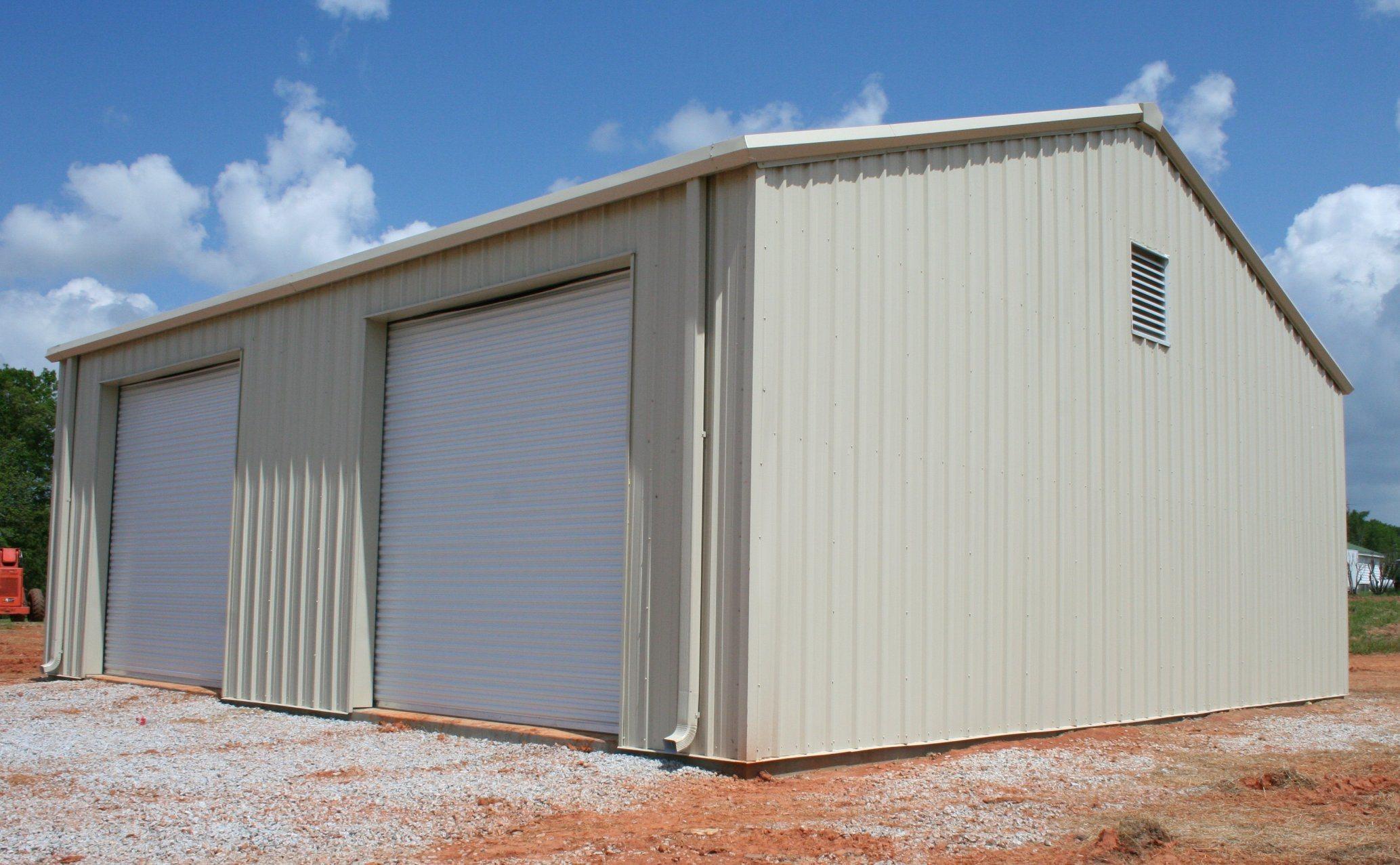 China Popular Products Australian Prefab Steel Structure Metal Garage Storeroom Modular Shed China Steel Structure Warehouse Steel Structure House Carports