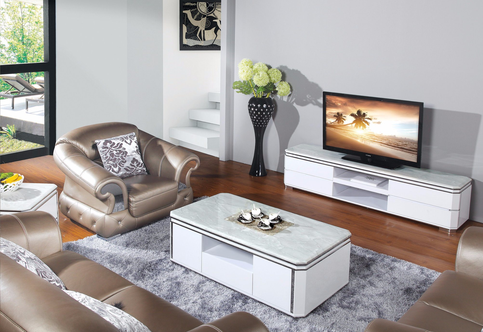 China 2015 Modern Living Room Furniture TV Bench TV Stand (DS-198 ...
