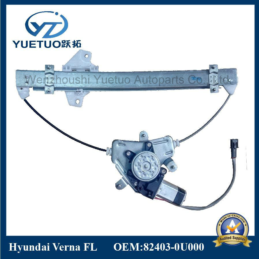 Verna Car Power Window Lifter for Hyundai 82403-0u000, 82404-Ou000