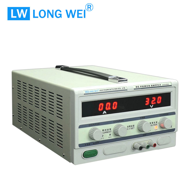 Longwei Lw30100kd Regulated Adjustable 30V 100A Over Voltage Protection with DC Power Supply