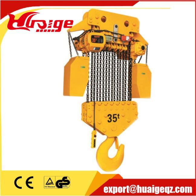 Widely Used High Quality Electric Workshop Chain Hoist 10t