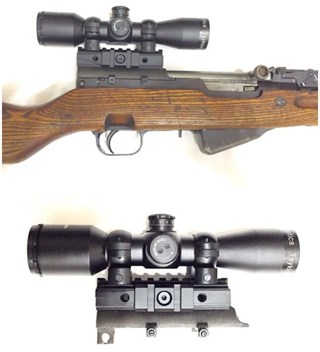 Custom Red 4X32 Rifle scope Hunting.