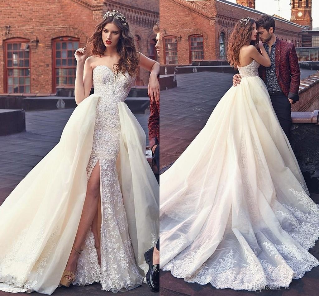 Mermaid Lace Wedding Gown: China 2018 Mermaid Lace Bridal Gown Arabic Dubai Wedding