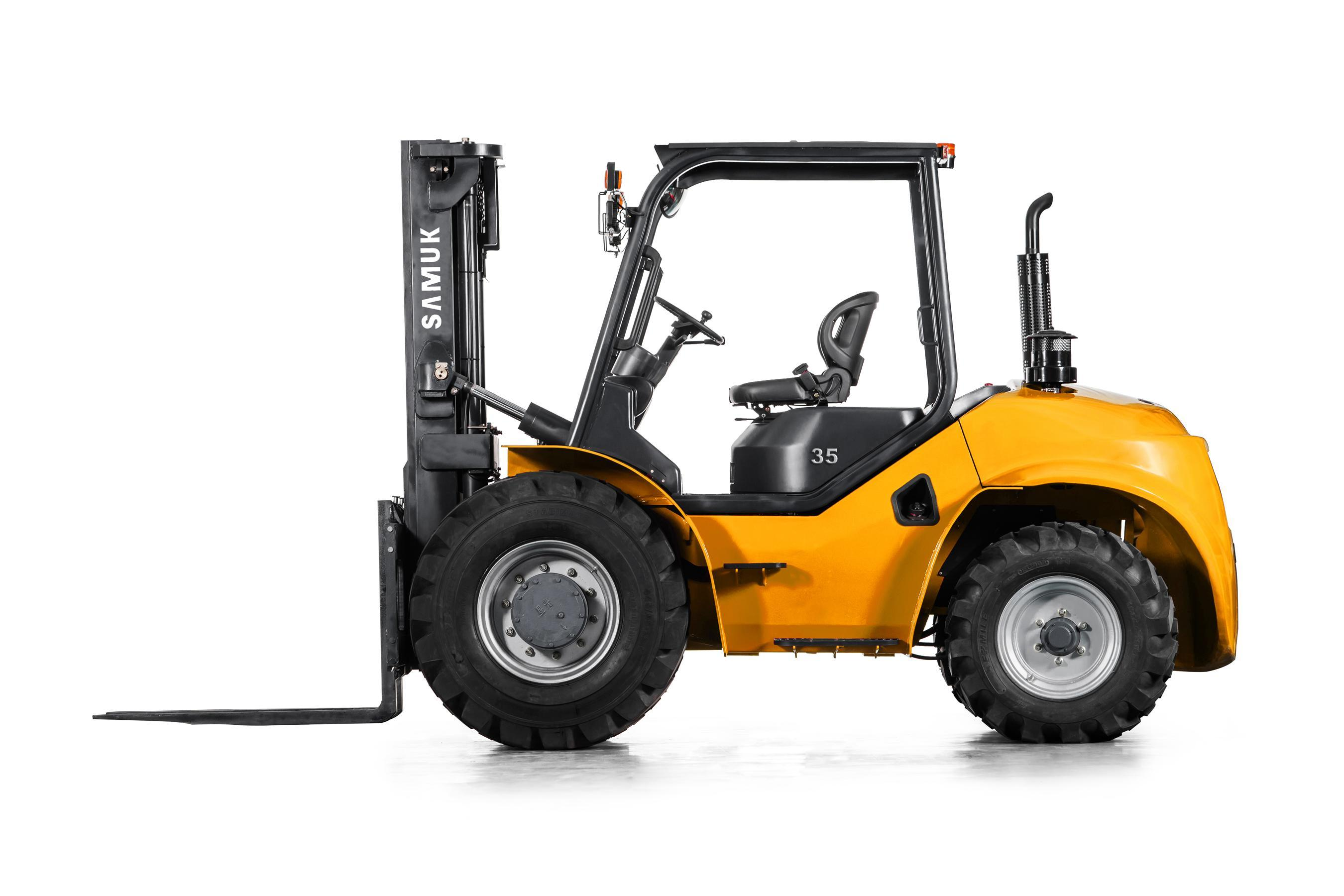 2WD Rough Terrain All Terrain Forklift 1.8-3.5ton