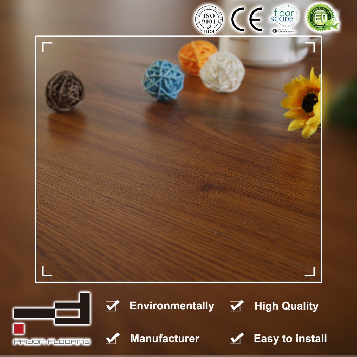 China Small Embossed High Quality Ac3 Laminate Flooring With Ce Laminte Laminated