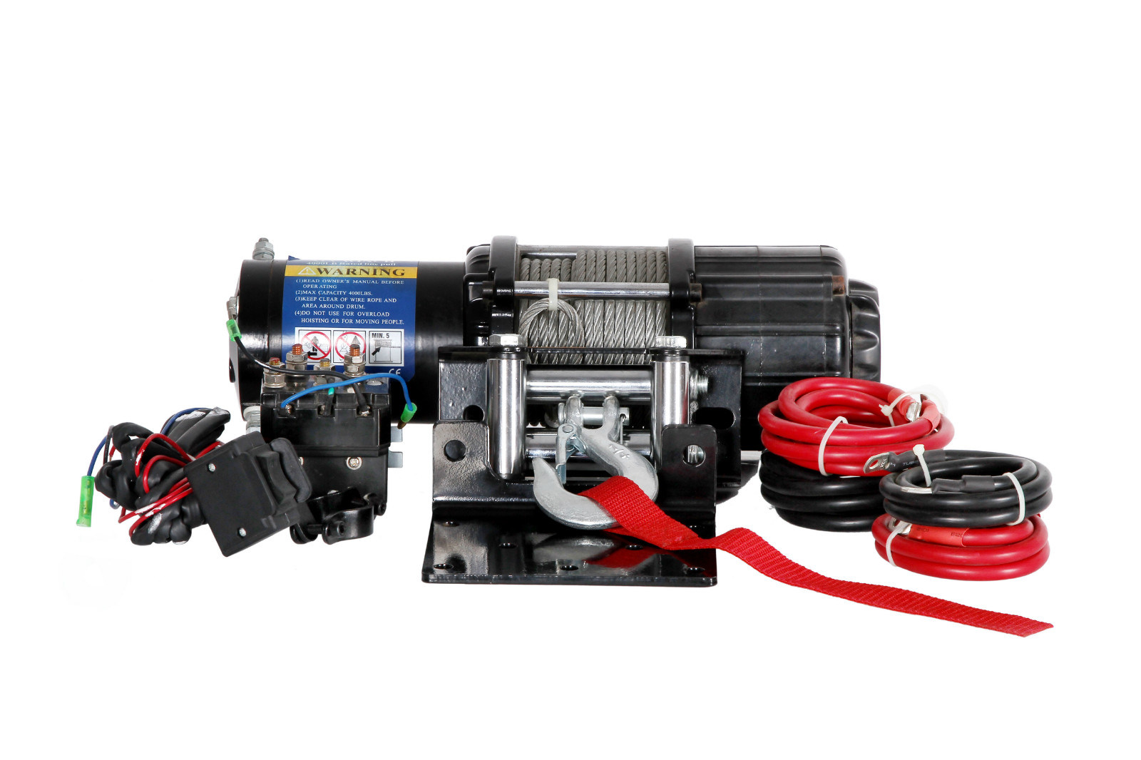 China ATV Electric Winch with 6000lb Pulling Capacity - China Winch ...