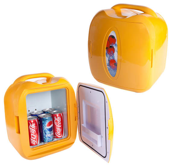 Fashionable Mini Fridge DC12V, AC100-240V for Cooling and Warming Application pictures & photos
