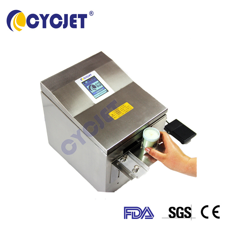 [Hot Item] Cycjet Alt390 Barcode Printers Bottle Logo Date Printing Machine