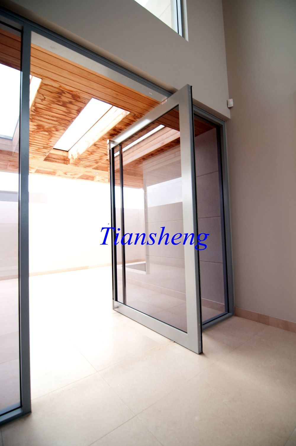 China Sliding Glass Doorfrench Glass Doorpivot Glass Door For Sale