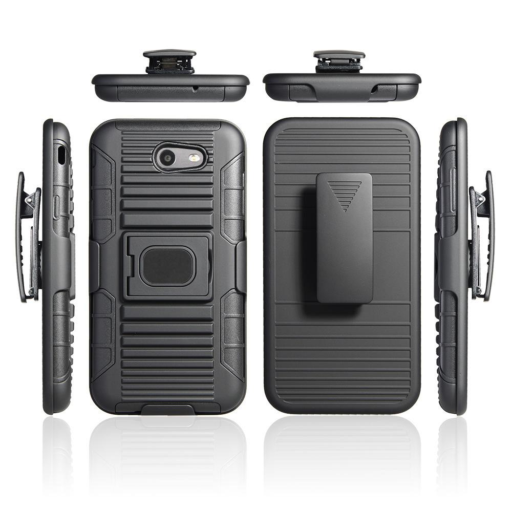 timeless design 83d39 5d363 [Hot Item] TPU PC Belt Clip Holster Mobile Phone Cover Shockproof Case for  Samsung Galaxy J7PRO J7 2017 J730 Rugged Armor