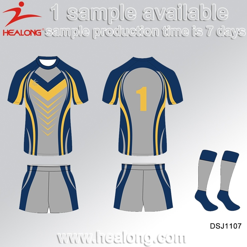 e0bf5e5fba6 Healong China High Quality Sports Clothing Gear Sublimation Men′s Rugby  Jerseys Shirts