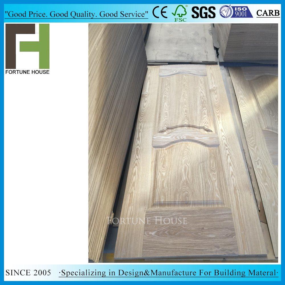 China Laminate Teak Veneer Wood Hdf Door Skins For Interior Door