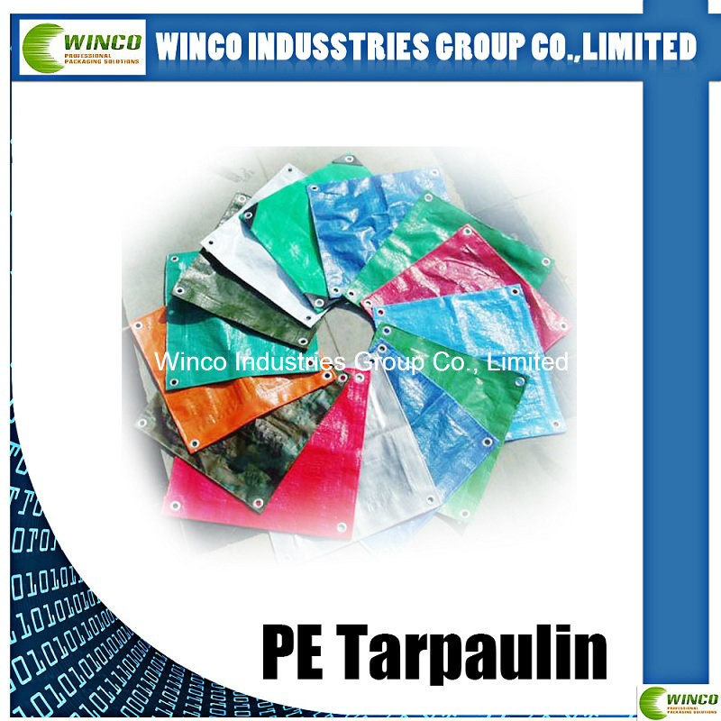 PE Tarpaulin Sheet with UV Treated for Whole Sales Waterproof Plastic Cover