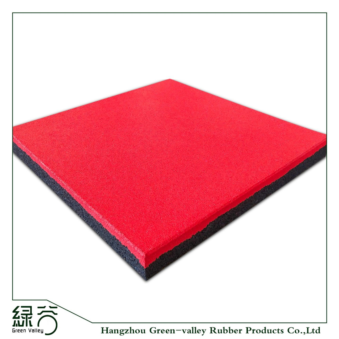 Factory Customized Commercial Crossfit Anti Vibration Shock Absorber Epdm Speckles Rubber Flooring Mat For Racecourse Garden Playgroundwalkway Park Yard