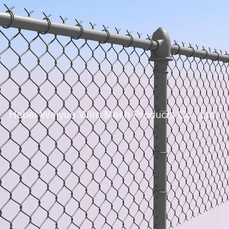 China Factory Wholesale PVC Coated Diamond Wire Mesh Security Metal ...