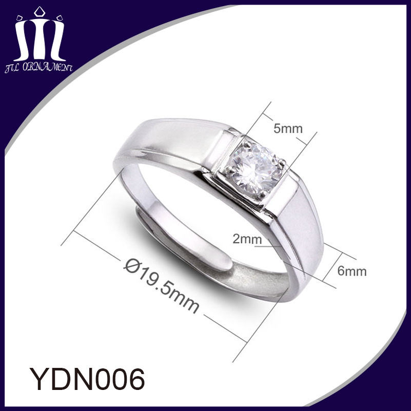 925 Sterling Silver Women Finger Ring