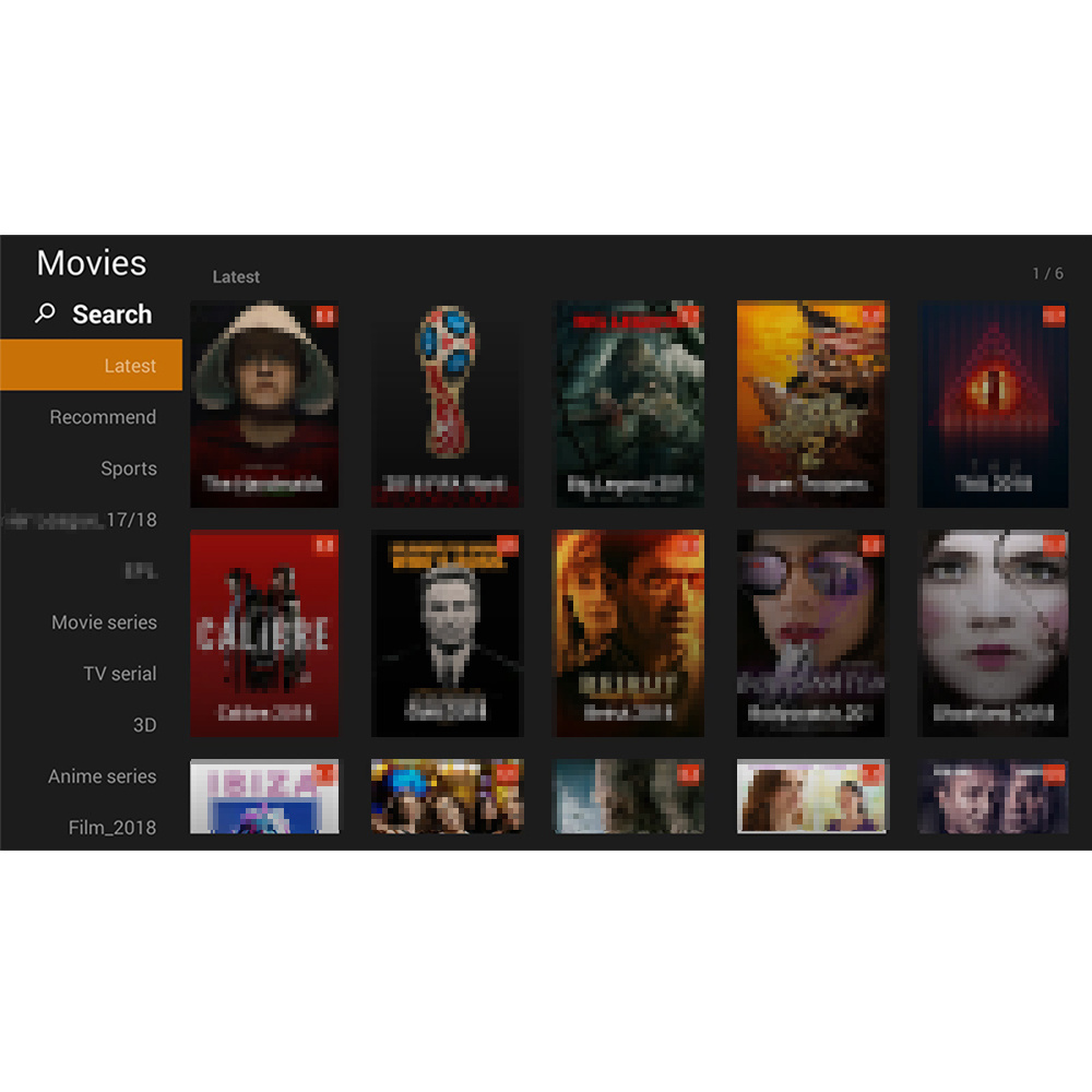 China Channels 12m North America IPTV Sarters Apk Stable