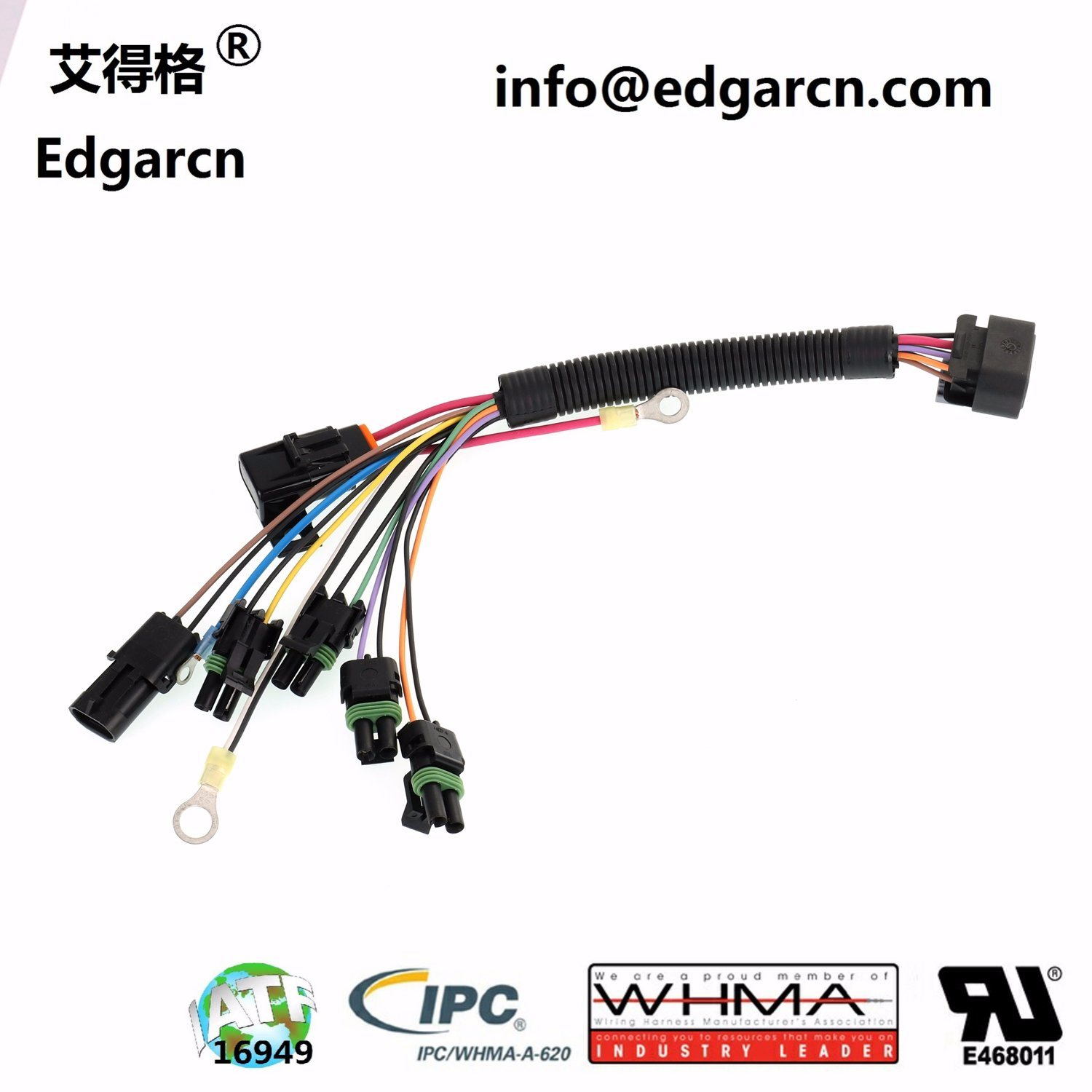 China OEM / ODM Custom Automotive Engine Wiring Harness with ... on