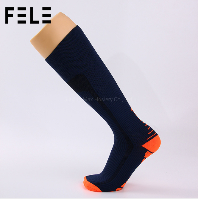 47708ec4c Sports Running High Quality Custom Design Pattern Logo Compression Socks