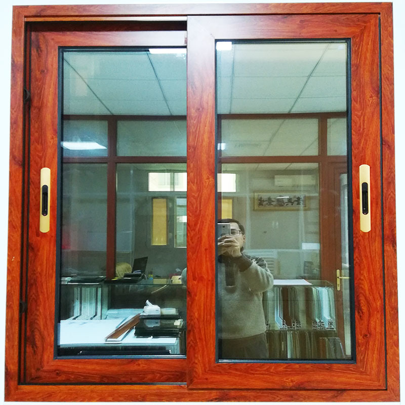 China Brazil Aluminum Grill Design Wood Window Styles And Names Sliding