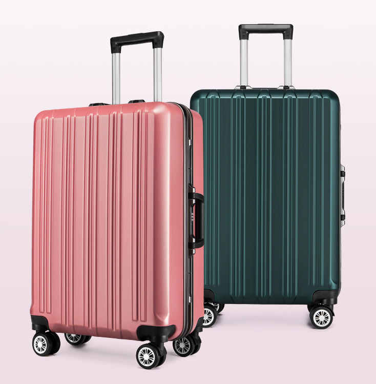 5985ab23974c [Hot Item] PC Trolley Wheeled Traveling Leisure Luggage Bag Suitcase Case  with Aluminum Frame (CY6981)